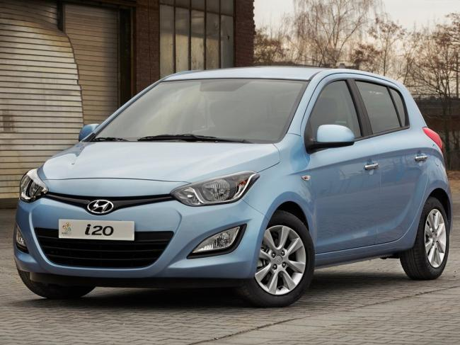 rental cars Hyundai I20 NEW